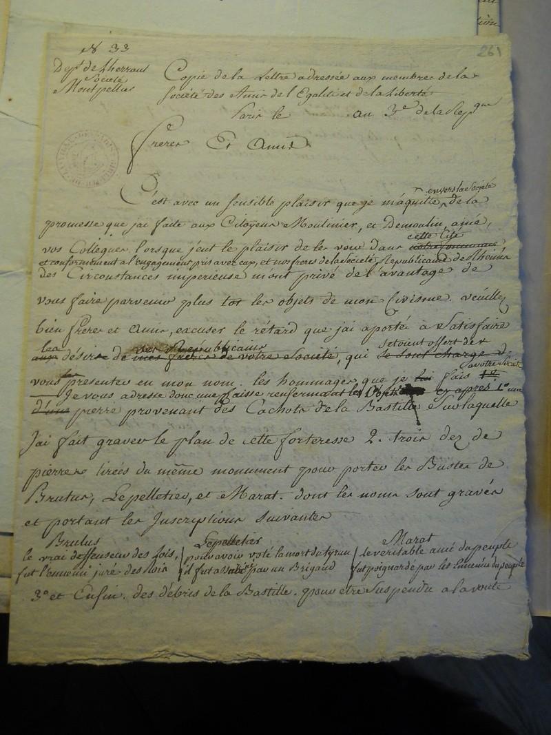 Palloy et le mythe de la Bastille - Page 11 Palloy89