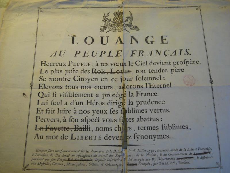 Palloy et le mythe de la Bastille - Page 11 Palloy91