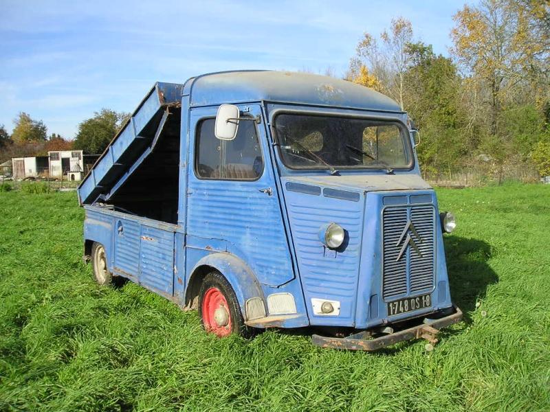 Présentation : HY 1971 pick up, ex DDE 110