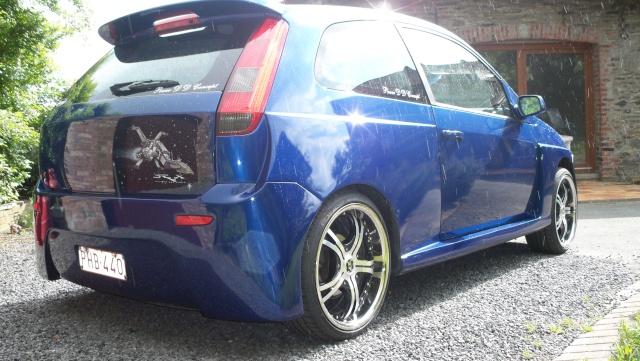 ma petite titine bleu Ford2015