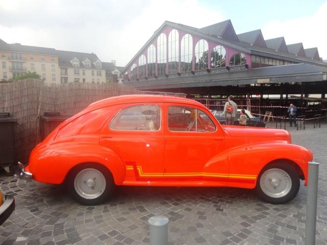Exposition anciennes voitures des films/series TV a Noisy le Grand Dsc01216