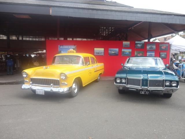 Exposition anciennes voitures des films/series TV a Noisy le Grand Dsc01322