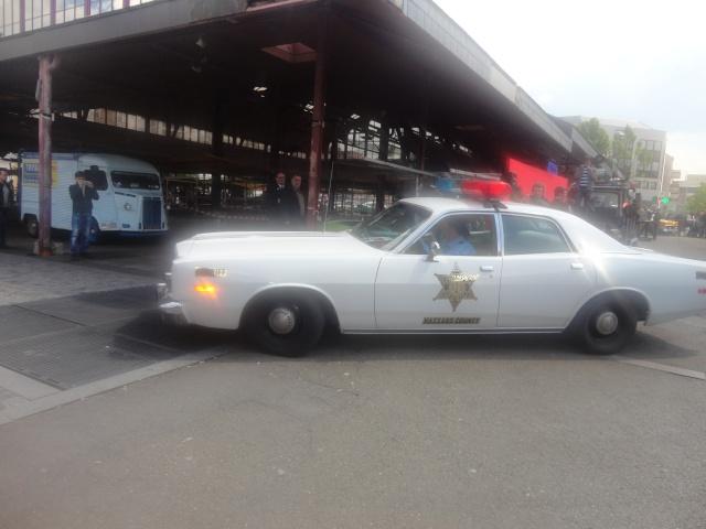 Exposition anciennes voitures des films/series TV a Noisy le Grand Dsc01329