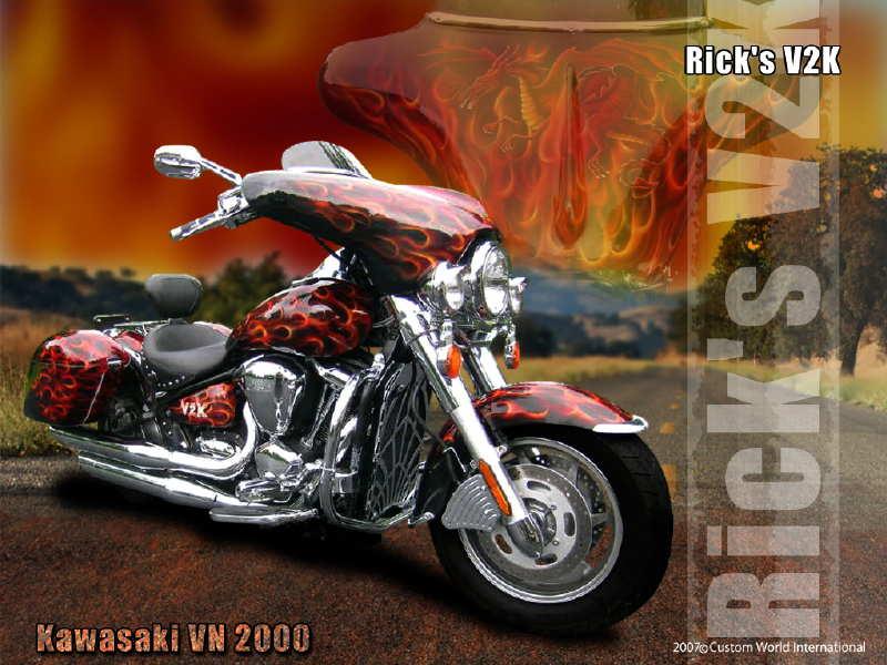PHOTOS de Kawasaki Customs - Page 8 Rick-v10