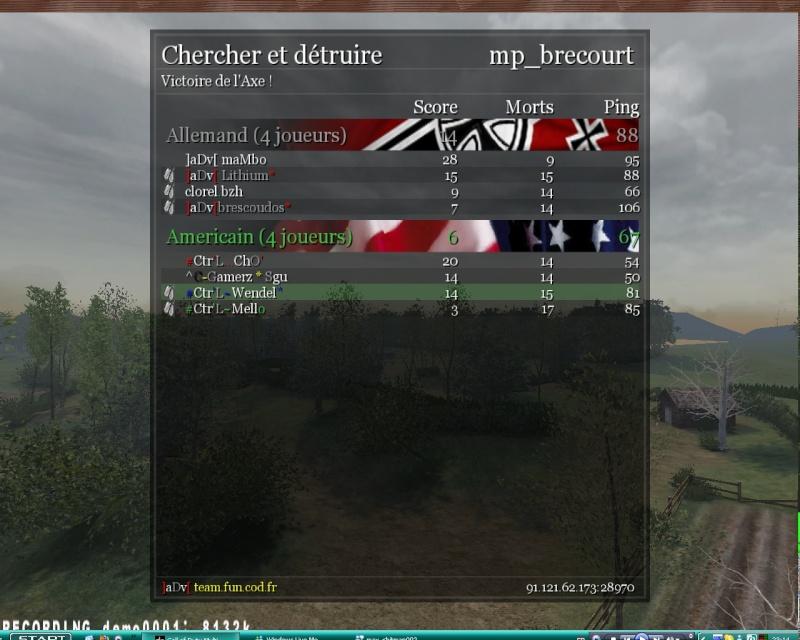 war vs aDv [lose 21-19][1.5][AW] 20090710