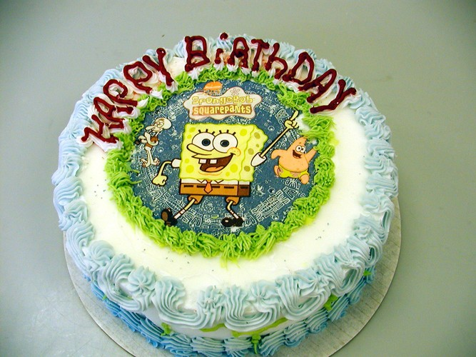 bonne anniversaire bob clio vibe Sponge10