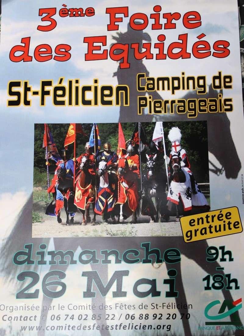 Fete des équidés le 26/05/13 a St Félicien (07) Affich10