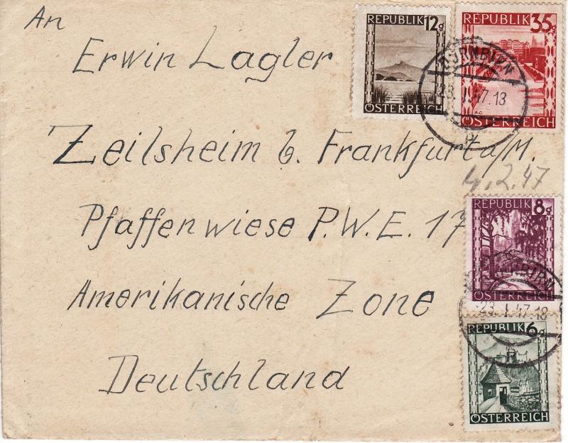 Landschaftsbilder ANK 738-766  -  Belege Zeils11