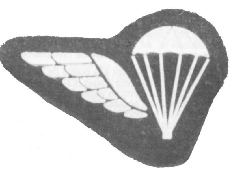 Les brevets paras et commandos belges Brevet16