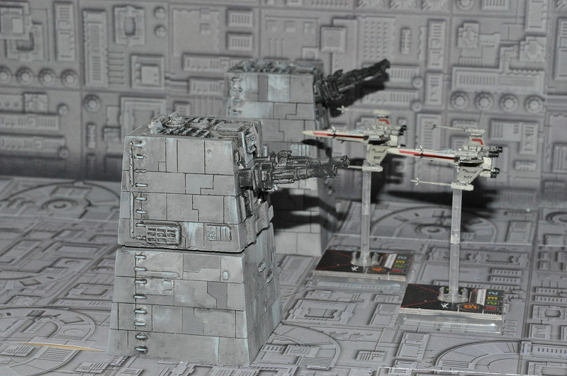 Tour turbo laser pour Star wars X-Wing Tl-ds210