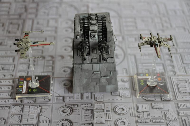 Tour turbo laser pour Star wars X-Wing Tl-ds310