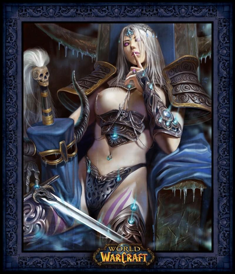 Wish Lady Blameux looks like this in Naxxramas.... 113d6311