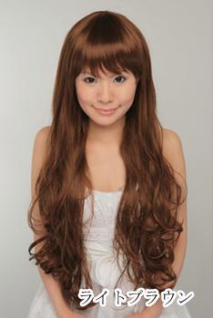 WTS: Long dark brown Curl Wig (For Suiseiseki) Img10210