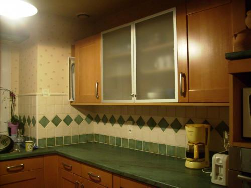 peinture mur cuisine Tita110