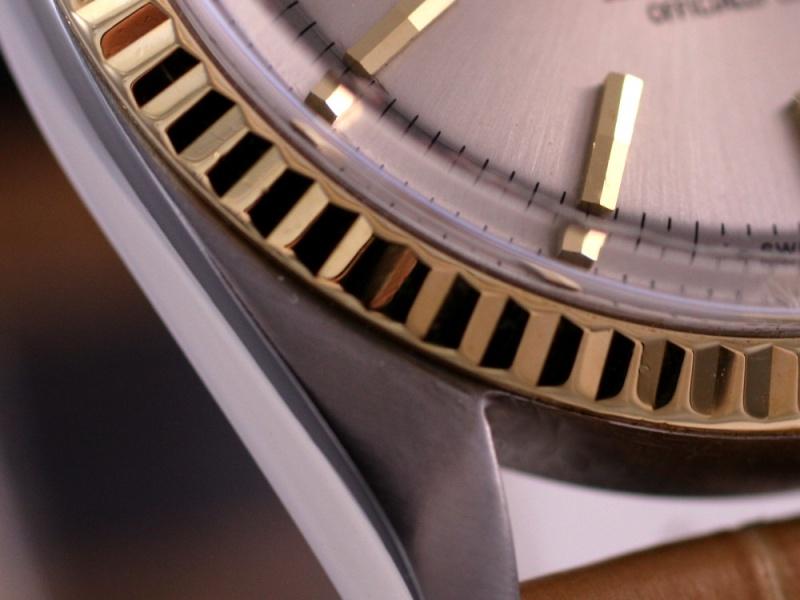 (Vendue) Rolex Datejust cadran steel   Réf: 1601 Img_3023