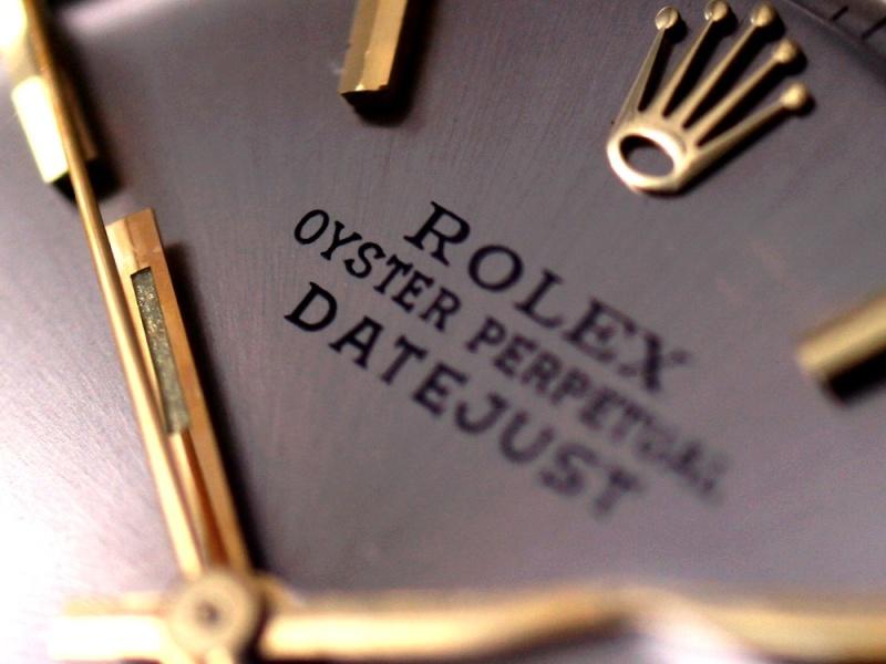 (Vendue) Rolex Datejust cadran steel   Réf: 1601 Img_3024
