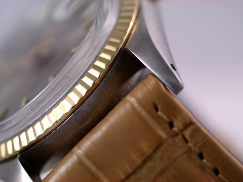 (Vendue) Rolex Datejust cadran steel   Réf: 1601 Img_3112