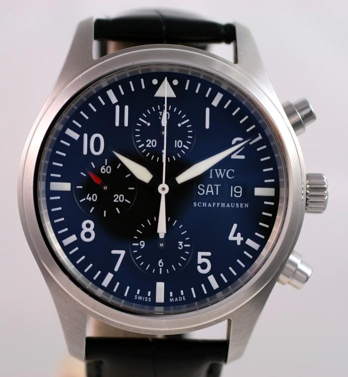 (Vendue) Iwc Chrono d'aviateur Réf: IW371701 Img_3214