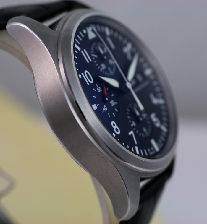 (Vendue) Iwc Chrono d'aviateur Réf: IW371701 Img_3215