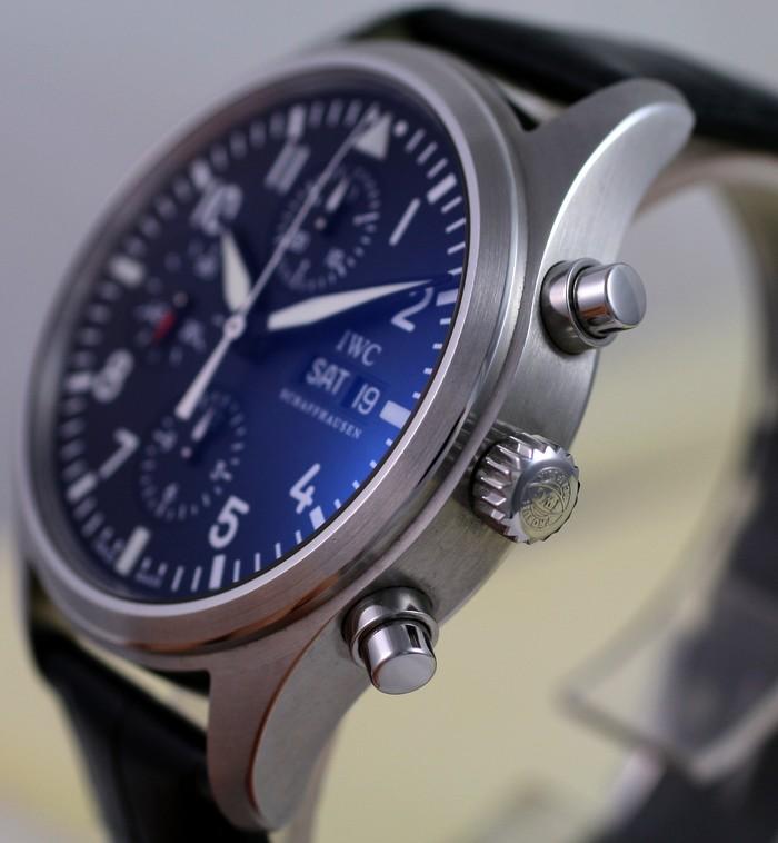 (Vendue) Iwc Chrono d'aviateur Réf: IW371701 Img_3216