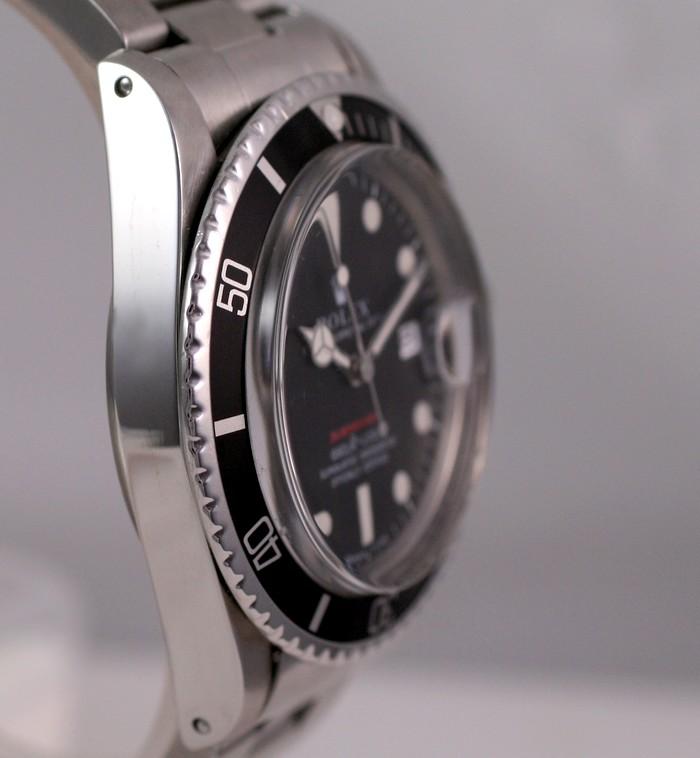 (Vendue) Rolex Submariner date écriture rouge  Réf:  1680 Img_3225