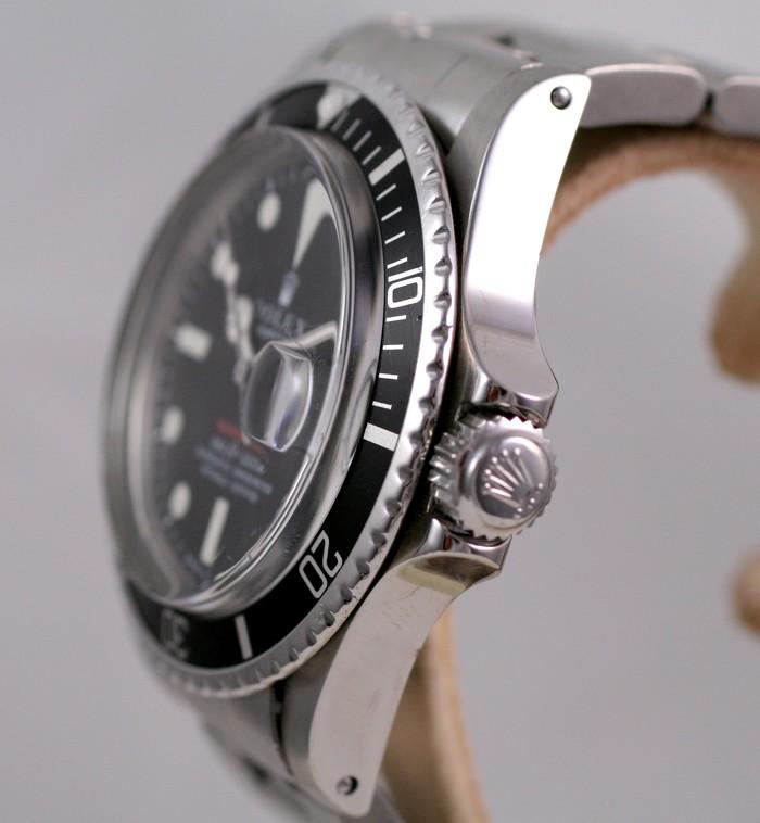 (Vendue) Rolex Submariner date écriture rouge  Réf:  1680 Img_3226