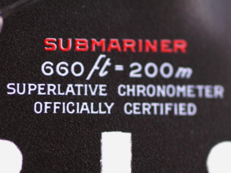 (Vendue) Rolex Submariner date écriture rouge  Réf:  1680 Img_3228