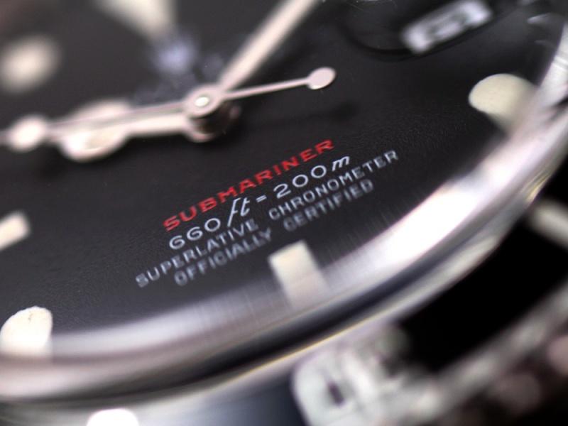 (Vendue) Rolex Submariner date écriture rouge  Réf:  1680 Img_3229