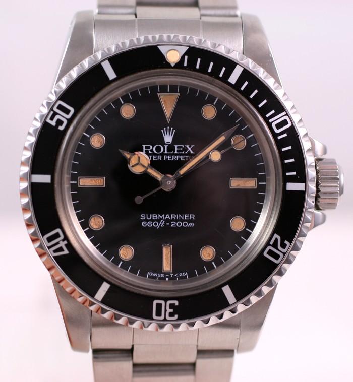 (Vendue) Rolex Submariner plexi   Réf: 5513 Img_3326