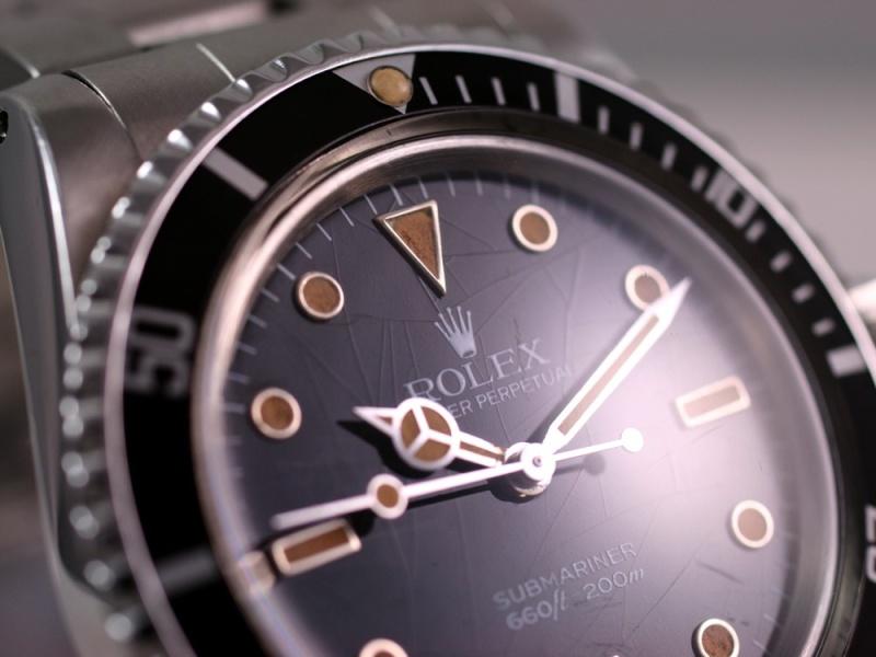 (Vendue) Rolex Submariner plexi   Réf: 5513 Img_3329