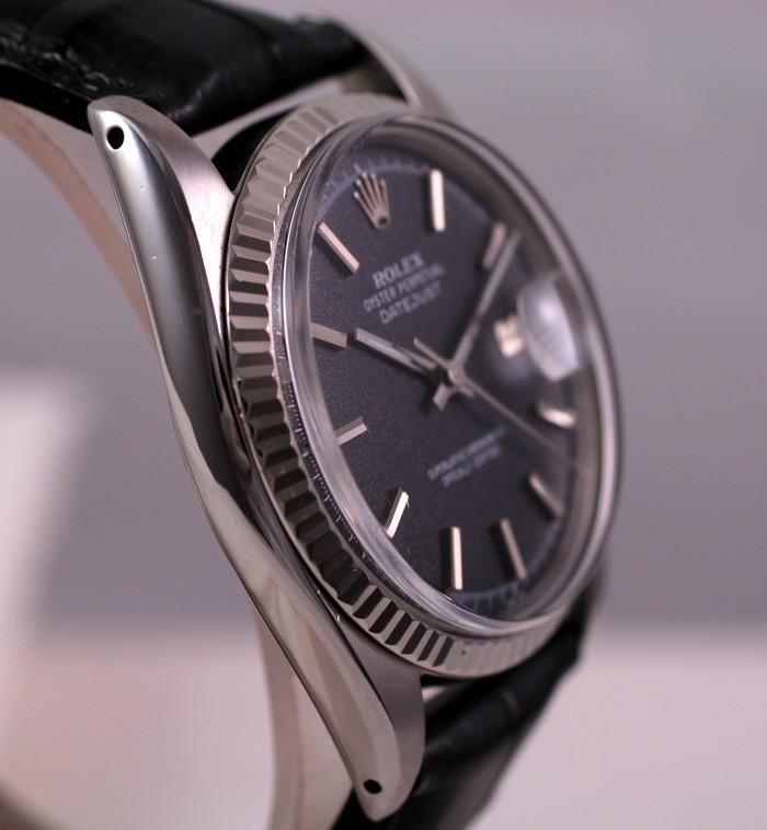 (Vendue) Rolex Datejust  cadran anthracite  Réf: 1601 Img_3512
