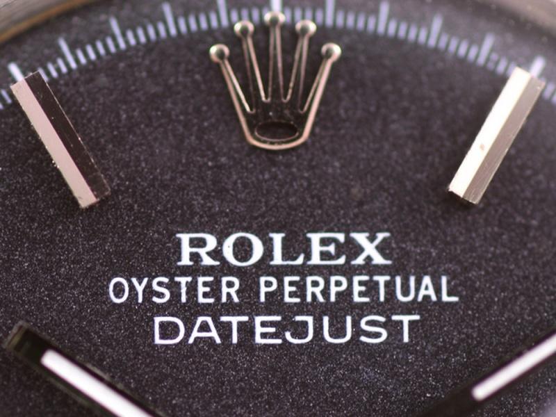 (Vendue) Rolex Datejust  cadran anthracite  Réf: 1601 Img_3514