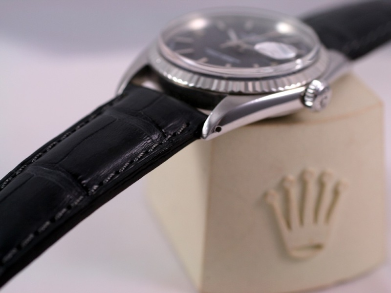 (Vendue) Rolex Datejust  cadran anthracite  Réf: 1601 Img_3515