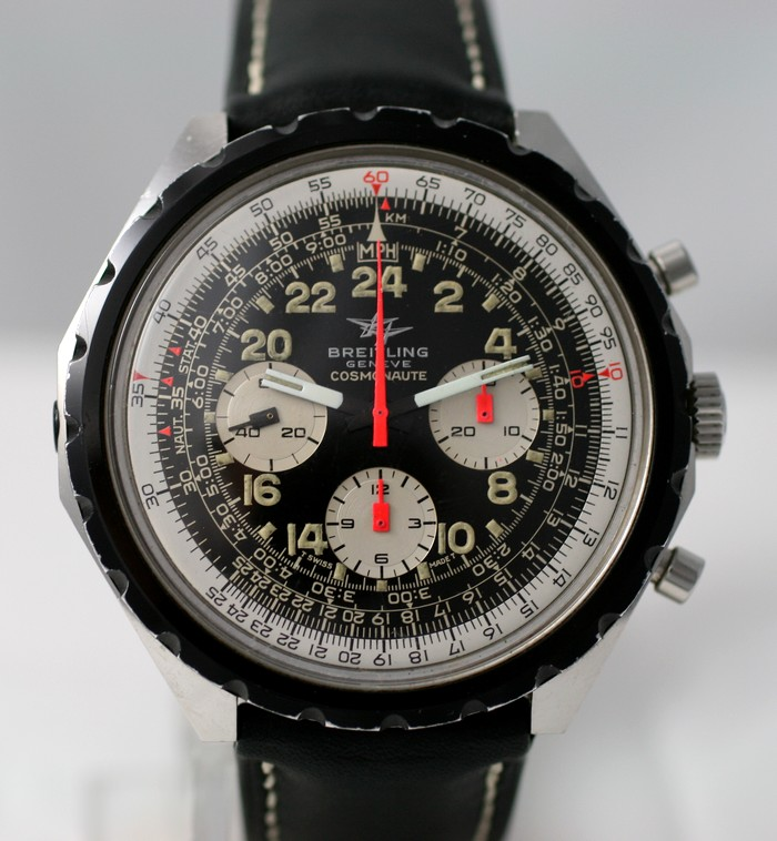 "(Vendue) Breitling Cosmonaute ""Pizza""  Réf: 819 Img_9914"