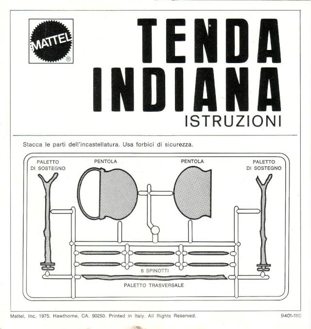 TENDA INDIANA N°9401/ANNO 1975 1511