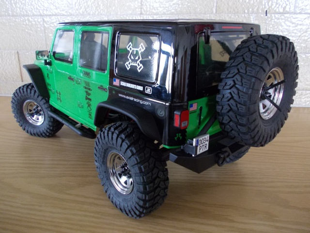 Axial scx10 Jeep Wrangler Unlimited Rubicon KIT - Página 3 05011