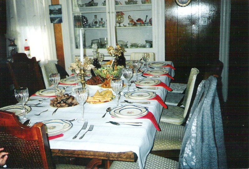 Albanian Traditional Table 00110