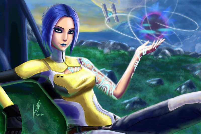 """Maya """"The Goddess"""" Maya_b10"""