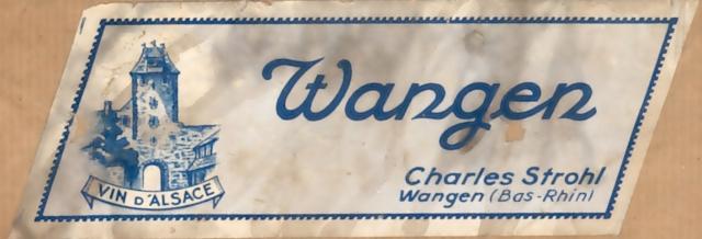 Distillerie et négoce en vins STROHL à Wangen Etique10