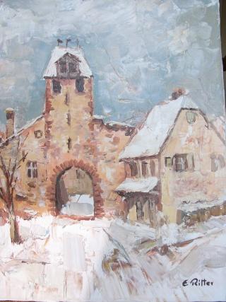 Etienne RITTER - Artiste peintre L1000612