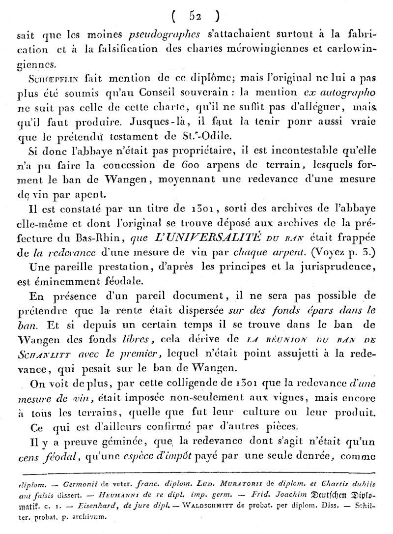 Mémoire d'un procès qui fit couler beaucoup de vin...à Wangen Numari46