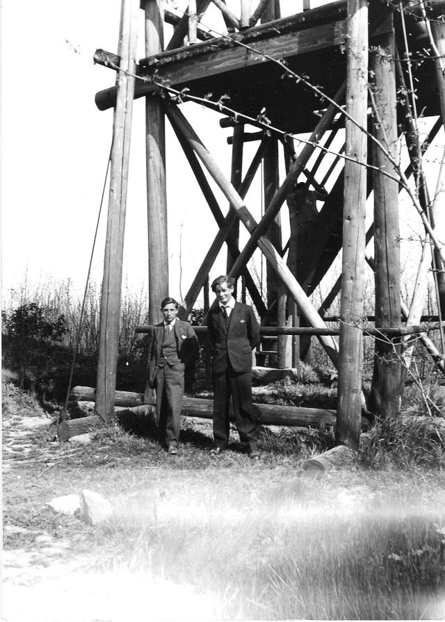 Le belvédère au sommet du Wangenberg Numari63