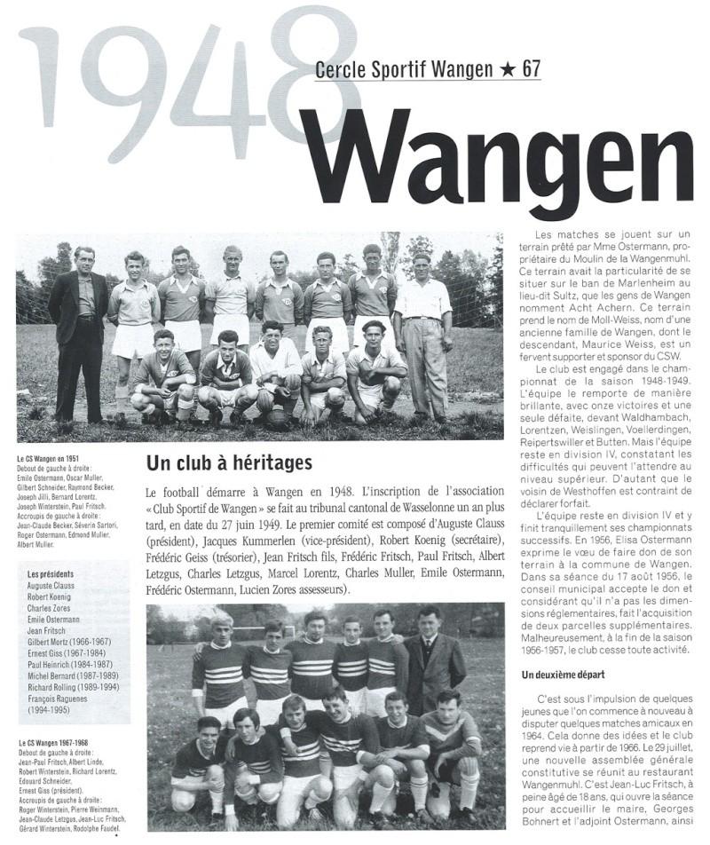 Le CSW - Club Sportif de Wangen P3811