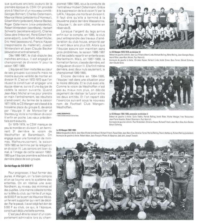 Le CSW - Club Sportif de Wangen P3911
