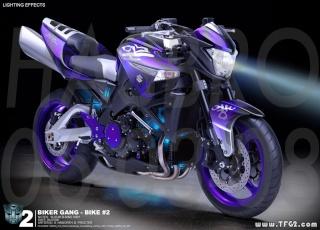 ARCEE : Interview avec Will Kenefick créateur des motos. Arcee112