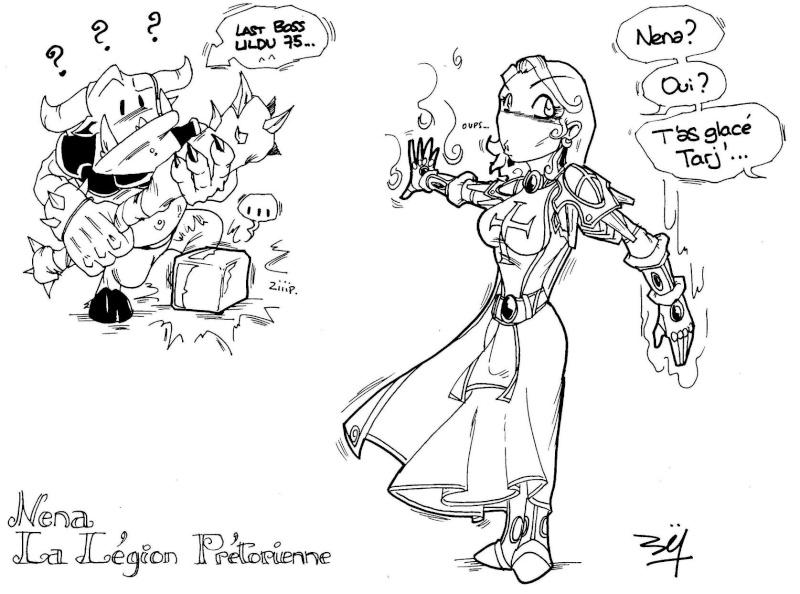 Raid à la légion par Nem....... GG l'artiste Nena1210