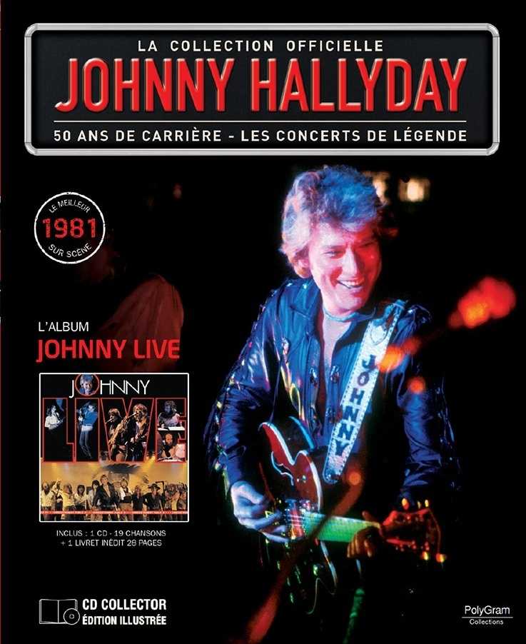 "n° 58 : ""Johnny Live 1981"" 52922310"