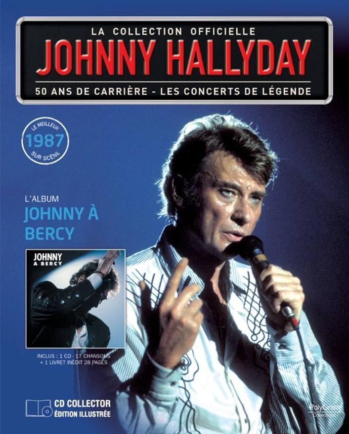 n° 61 JOHNNY à Bercy - 1987 60231810