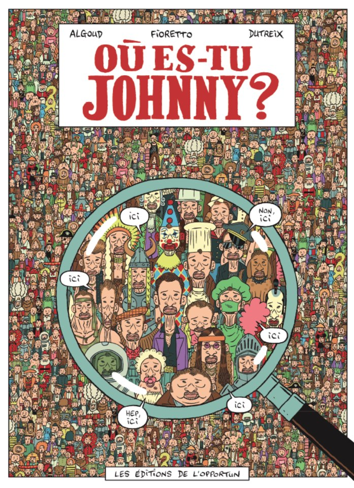 Où es-tu Johnny ?  97051710