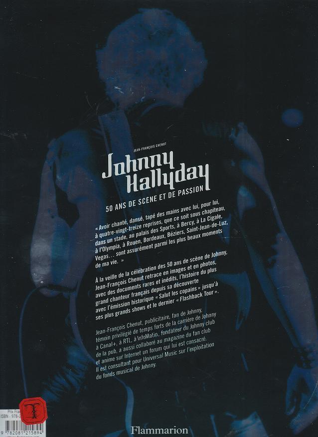 [livre]Johnny Hallyday 50 ans de scène et de passion Img_0571